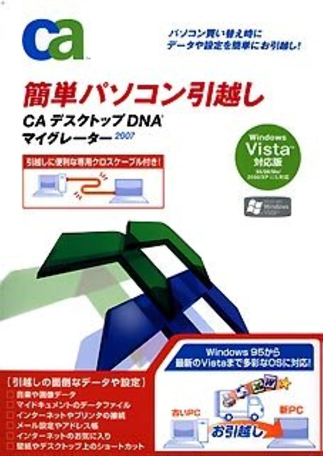 CA デスクトップDNAマイグレーター 2007 WindowsVista対応版 (パッケージ版)