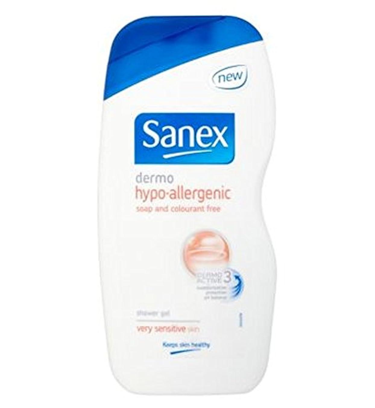 簡潔な現代遺伝子Sanex低刺激性のシャワージェル500ミリリットル (Sanex) (x2) - Sanex Hypoallergenic Shower Gel 500ml (Pack of 2) [並行輸入品]