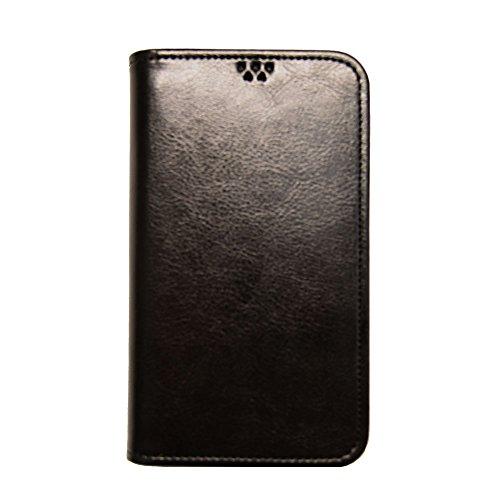 ROCOCO[samsung GALAXY S4 SC-04E SC04E ギャラクシー GALAXY4 対応 Flip Case] 手帳型ケース 全機種対応 全機種対応スマホケース 携帯ケース 機種対応 手帳型 ケース 手帳 カバー 人気 かわいい おすすめ 丈夫 収納 カード入れ フリップ 携帯 シンプル カラープール Color 人気デザイン かわいい icカード入れ BLACK