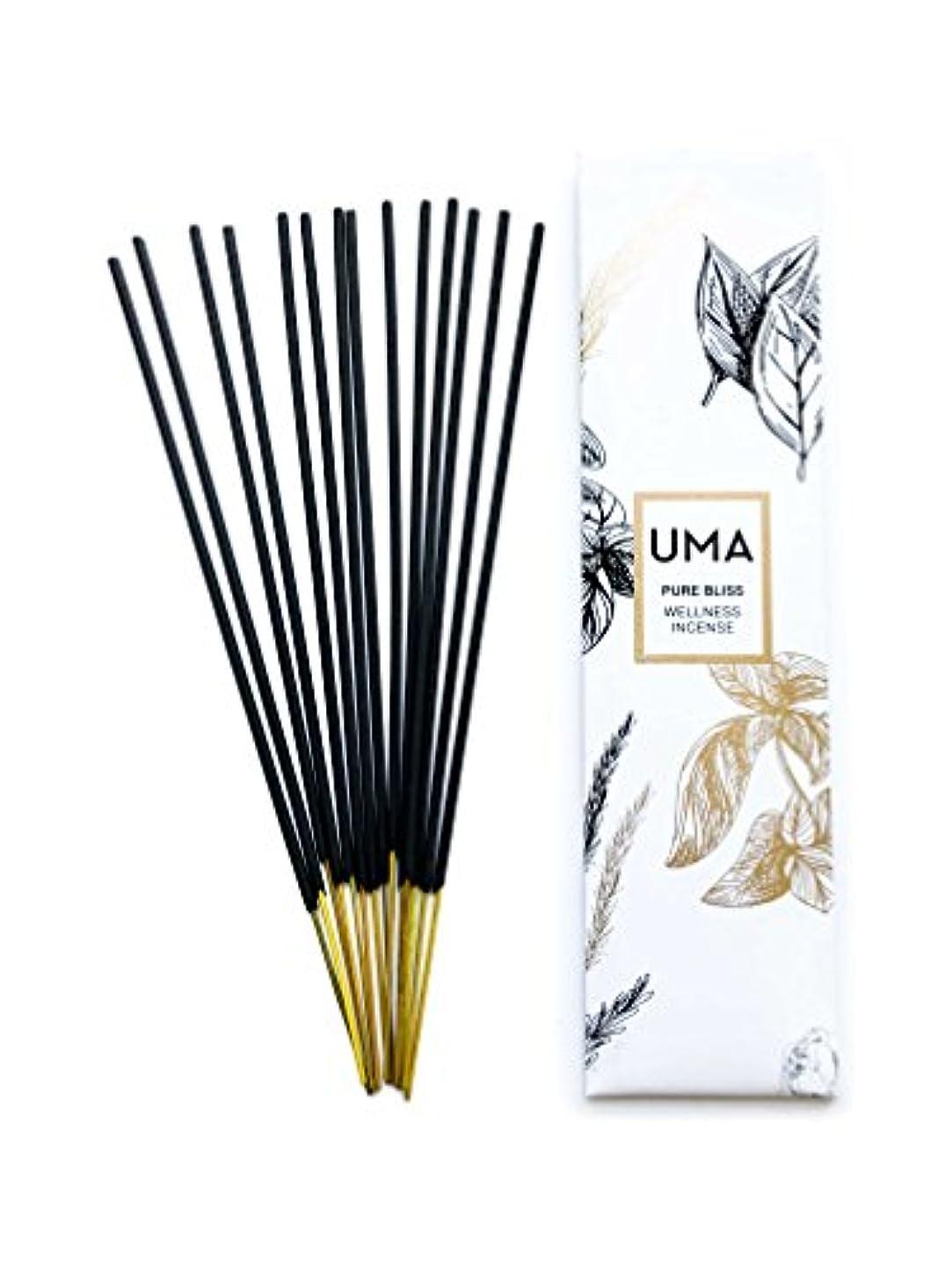 日食彫るアマチュアUma Pure Bliss Wellness Incense、15 Sticks
