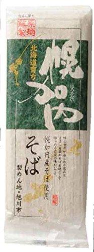 藤原製麺 北海道育ち 幌加内そば 250g