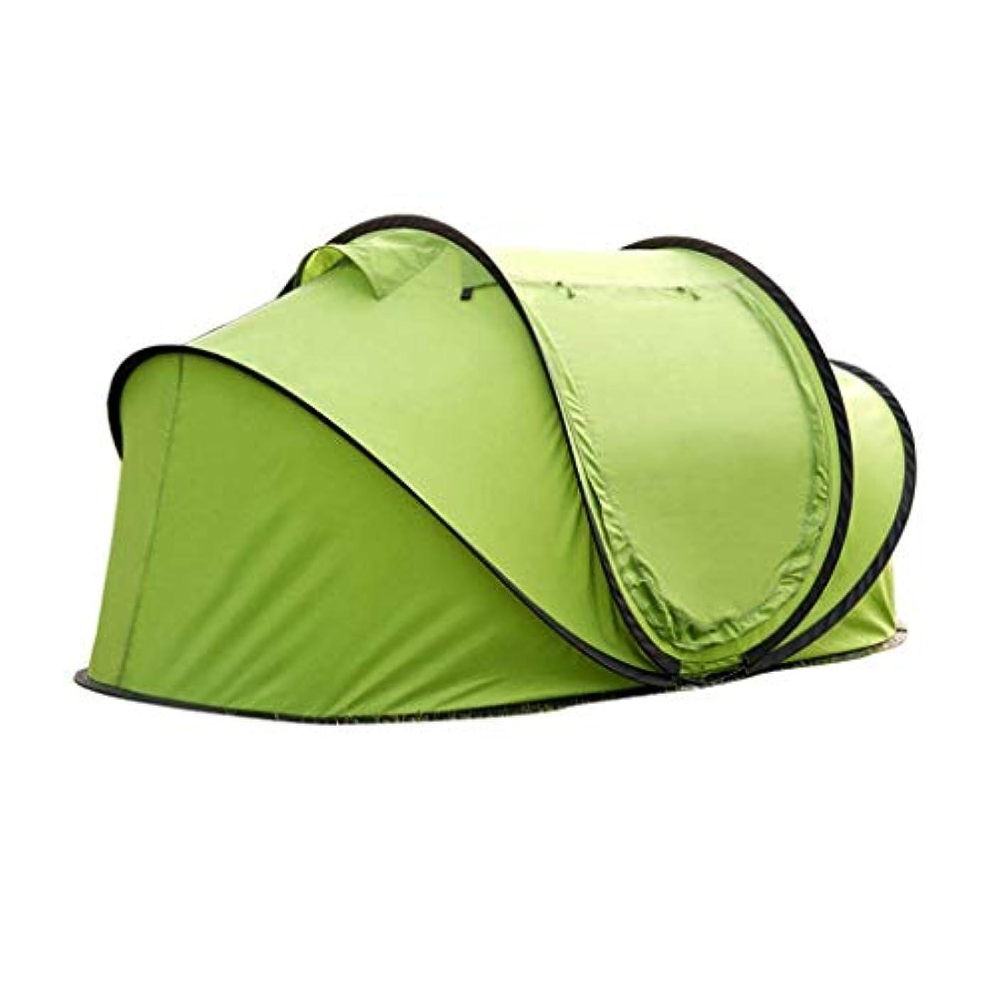 ティーンエイジャー南グリースJOLLY 屋外スピードオープンハンド投げテント2人自動キャンプテント2秒スピードオープンフィールドテント屋内子供テント