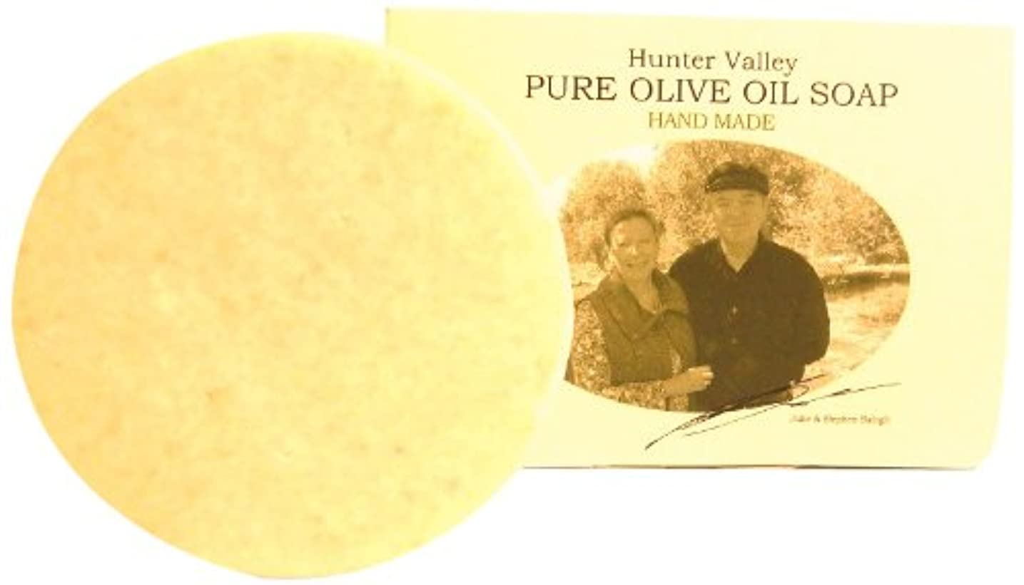 王子持続する忘れるバロッグ夫婦の手作りオリーブオイル石鹸 (ゴーツミルク) 100g