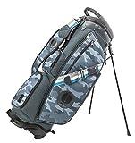 MIZUNO(ミズノ) ゴルフ キャディーバッグ BOLSA STAND ボルサ・ヴォアドーラ キャディバッグ メンズ スタンドタイプ 4分割/9.5型/47インチ対応 5LJC191600 グレー