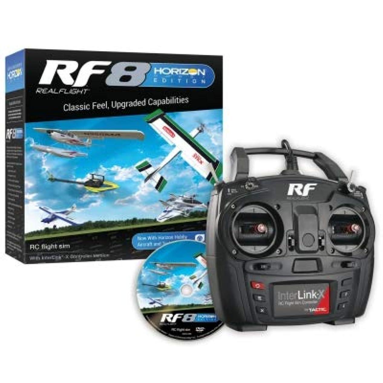 叫ぶ宣言機械的にMALTA★リアルフライト8 HORIZONエディション USBコントローラー付属(MODE2) RCフライトシミュレーター Real Flight 8 Horizon Hobby Edition / RF8 HHE MD2