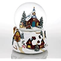 A Winter 's Wonderland Carriage Ride教会にby Twinkle Waterglobes