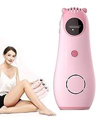 電気脱毛装置は痛みがありません女性の男性、IPL永久脱毛デバイス痛みのない永久的な体の毛の除去のための脱毛デバイスシステム-Pink