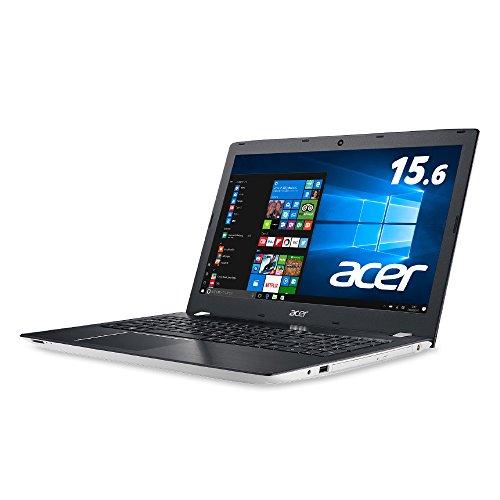 Acer ノートパソコン Aspire E5-575-N58G/W(ホワイト) Windows10/Core i5/15.6インチ/8GB/1TB