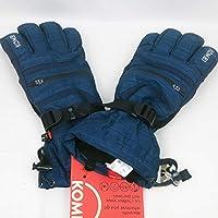 KOMBI (コンビ)42481 The Rail Jammer Mens Glove1461 Black Iris Heather メンズ グローブ スノーボード スキー サイズ-M