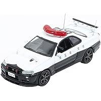 ヒコセブン RAI'S 1/64 日産 スカイライン GT-R BNR34 埼玉県警察高速隊車両 完成品