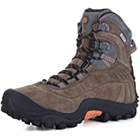 XPETI Men's Thermator Evo Mid High-Top Waterproof Leather Hiking Outdoor Boot