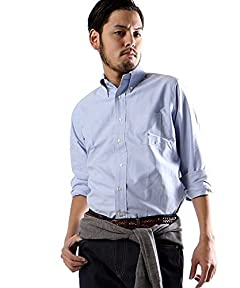 Individualized Shirts Standard Fit Cambridge Oxford Buttondown Shirt