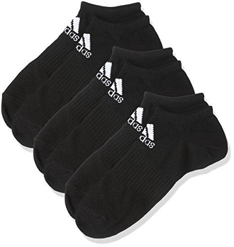(アディダス) adidas トレーニングウェア BASIC 3P アンクルソックス DMK57 [ユニセックス] BR6126 ブラック/ホワイト 25-27cm