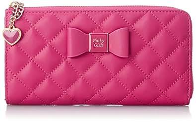[ピンキーガールズ] Pinky Girls PG/キルティングLジッパー長財布 6205512 PN (ピンク)
