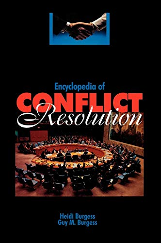 Download Encyclopedia of Conflict Resolution 0874368391
