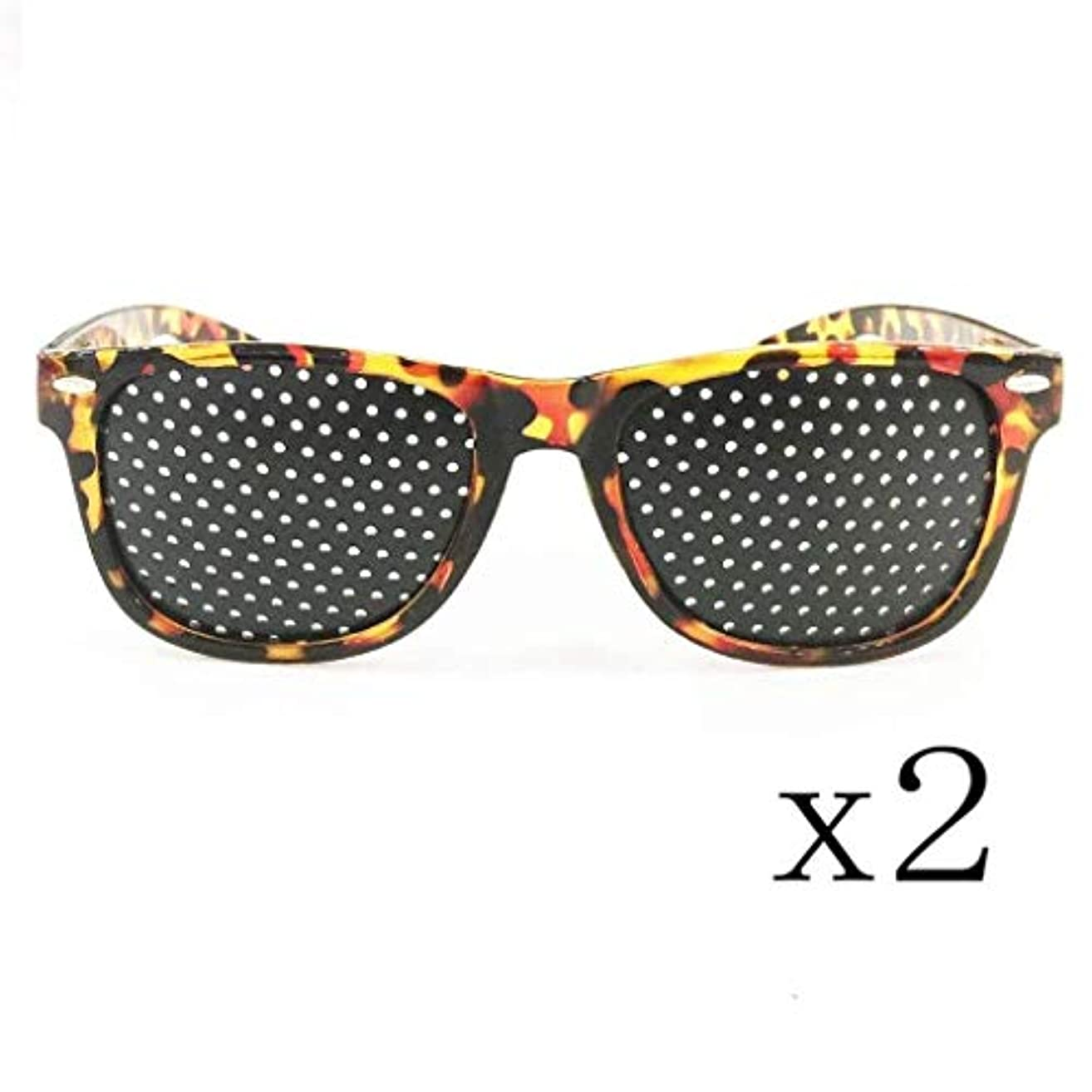 天文学累積フィールドピンホールメガネ、アイズエクササイズアイサイトビジョンメガネの改善ビジョンケアメガネ近視の防止メガネの改善