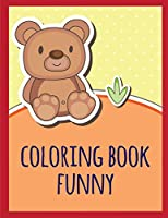 coloring book funny: coloring pages with funny images to Relief Stress for kids and adults (Baby Animals)
