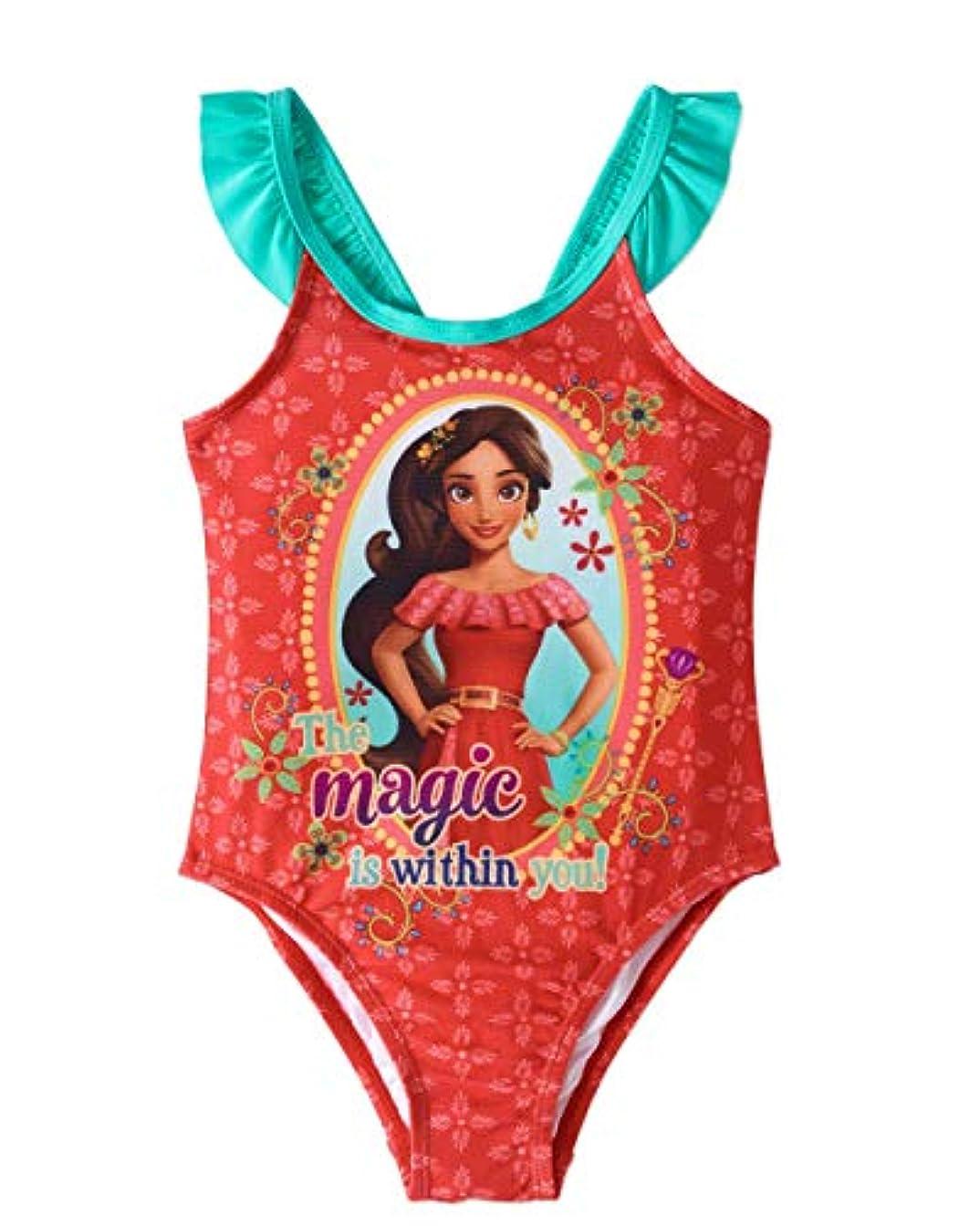 専門用語血まみれ名目上のFashion Toddler Girls Disney Elena Of Avalor 1 Piece Swimsuit - 3T