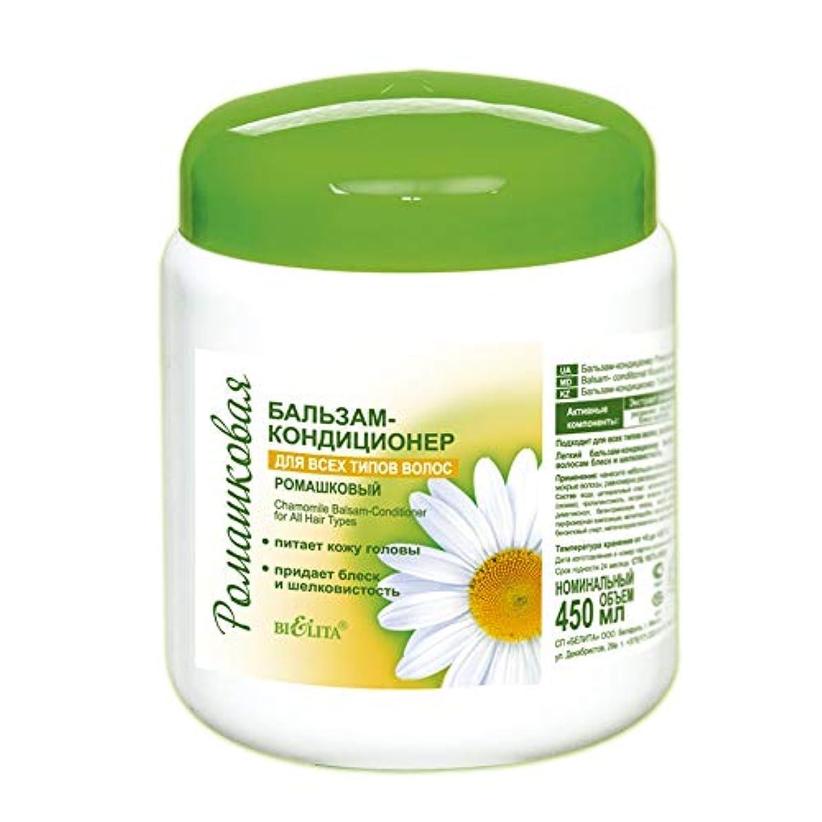 疑わしいサイクロプス動員するBielita & Vitex | Chamomile Line Restorating Conditioning Balm for All Types of Hair | All Natural: Allantoin...