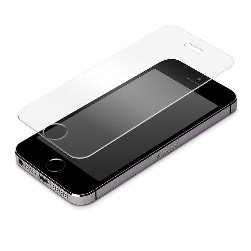 RIX/PGA iPhone 5s/5c/5専用 液晶保護ガラス スーパークリア PG-PSI5SGC