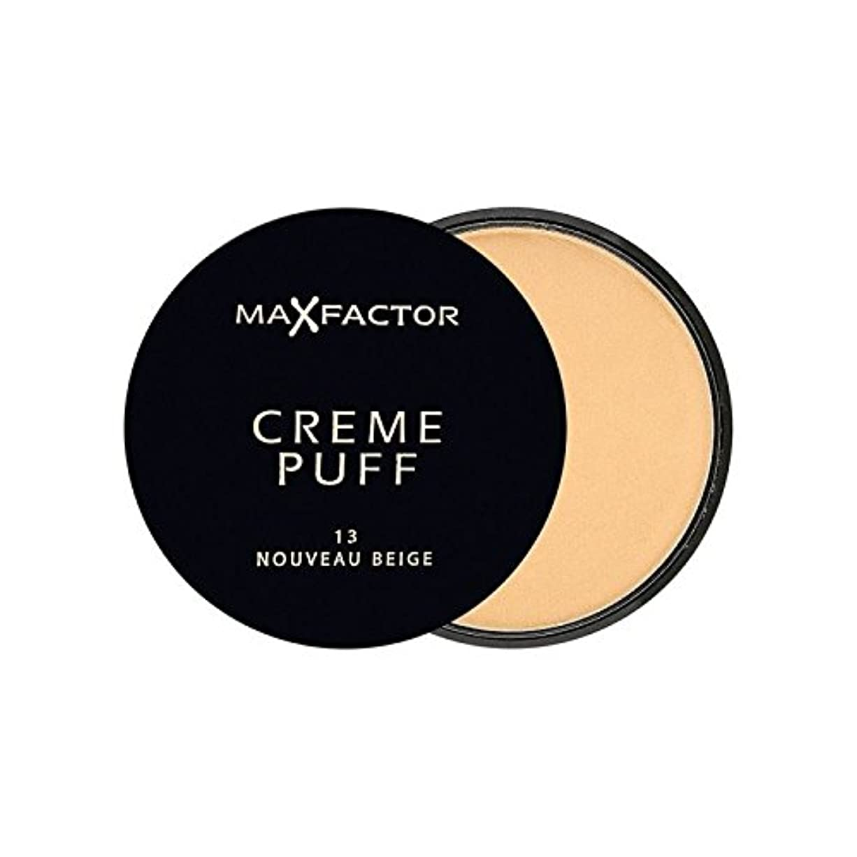 闇メーカー膨張するMax Factor Creme Puff Powder Compact Nouveau Beige 13 (Pack of 6) - マックスファクタークリームパフ粉末コンパクトヌーボーベージュ13 x6 [並行輸入品]