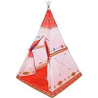 Lian子供の再生テントエキゾチックToys Yurt Nets Folding Playhouse (オレンジ1509090 CMのパックの1 )