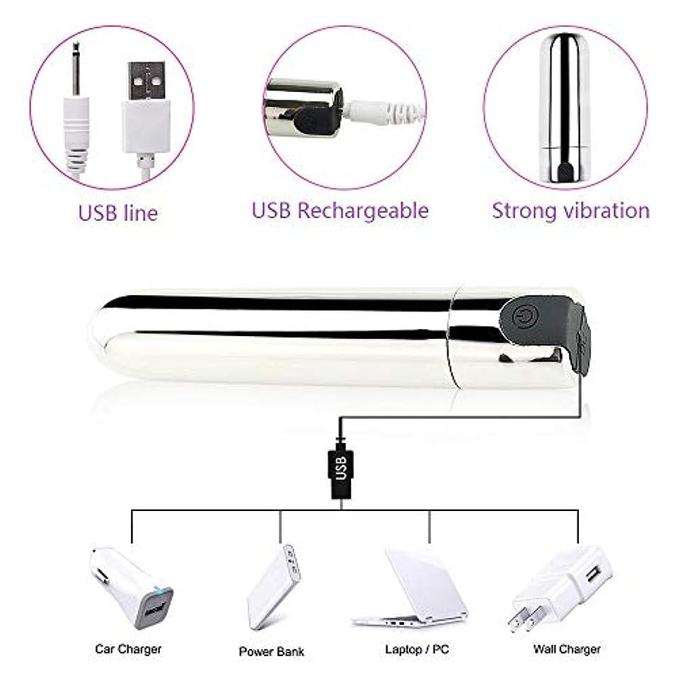 マーキーフルーティー慎重弾丸のマッサージャー - 10種類の振動 - シリコン - USB充電 - あなたのFashional Massager Group