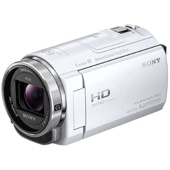 ソニー SONY ビデオカメラ Handycam CX535 内蔵メモリ32GB ホワイト HDR-CX535/W