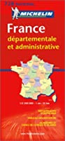 Michelin France Departementale Et Administrative (Michelin National Maps)