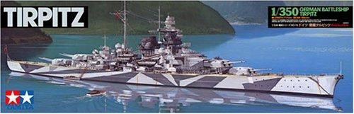 タミヤ 1/350 艦船シリーズ No.15 ドイツ海軍 戦艦 テルピッツ プラモデル 78015