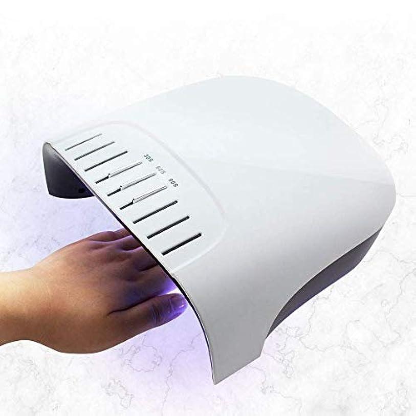 届ける刺激する弱める60ワットledネイルドライヤー内部アップグレード液晶タイマーとボタン36ピースuv led紫外線ネイルランプ用ゲルポリッシュネイルアートツール