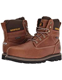 Caterpillar(キャタピラー) メンズ 男性用 シューズ 靴 ブーツ 安全靴 ワーカーブーツ Idaho Steel Toe WP - Walnut [並行輸入品]