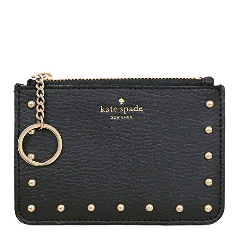 [ケイトスペード] kate spade 財布 (コインケース) WLRU4918 ブラック black(001) スタッズ レザー コインケース レディース [アウトレット品] [ブランド] [並行輸入品]