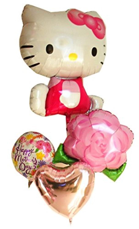 母の日ギフト キティの風船の贈り物