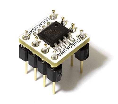 OPA627AU デュアル 8Pin DIP変換基板実装済み
