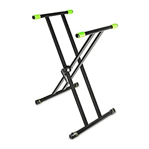 Gravity グラビティ X型キーボードスタンド Keyboard Stand X-Form double black GKSX2