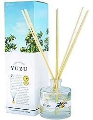 (美健)BIKEN YUZU消臭リードディフューザー 高知県産ゆず精油(香り)配合