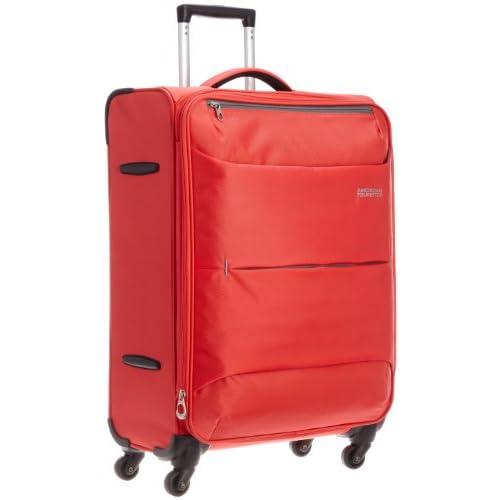 [アメリカンツーリスター] AmericanTourister TROPICAL  /  トロピカル スピナー68cm (スーツケース・キャリーケース・トラベルバッグ・TSAロック装備・大容量・軽量・ジッパー・保証付) 5414847384622 40 (コーラル)
