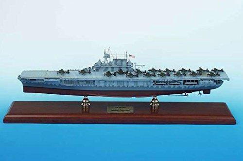 マホガニー製完成品 1/350 空母ホーネット (CV-8) (SCMCS008)
