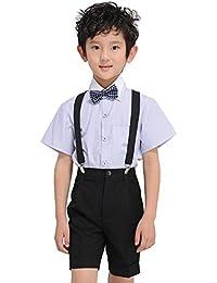 10cb9a5e0d8c9 ニューヤ (Newya) 男の子 豪華 フォーマル 子供スーツ ギッズ服 卒園式 フラワーボーイズ