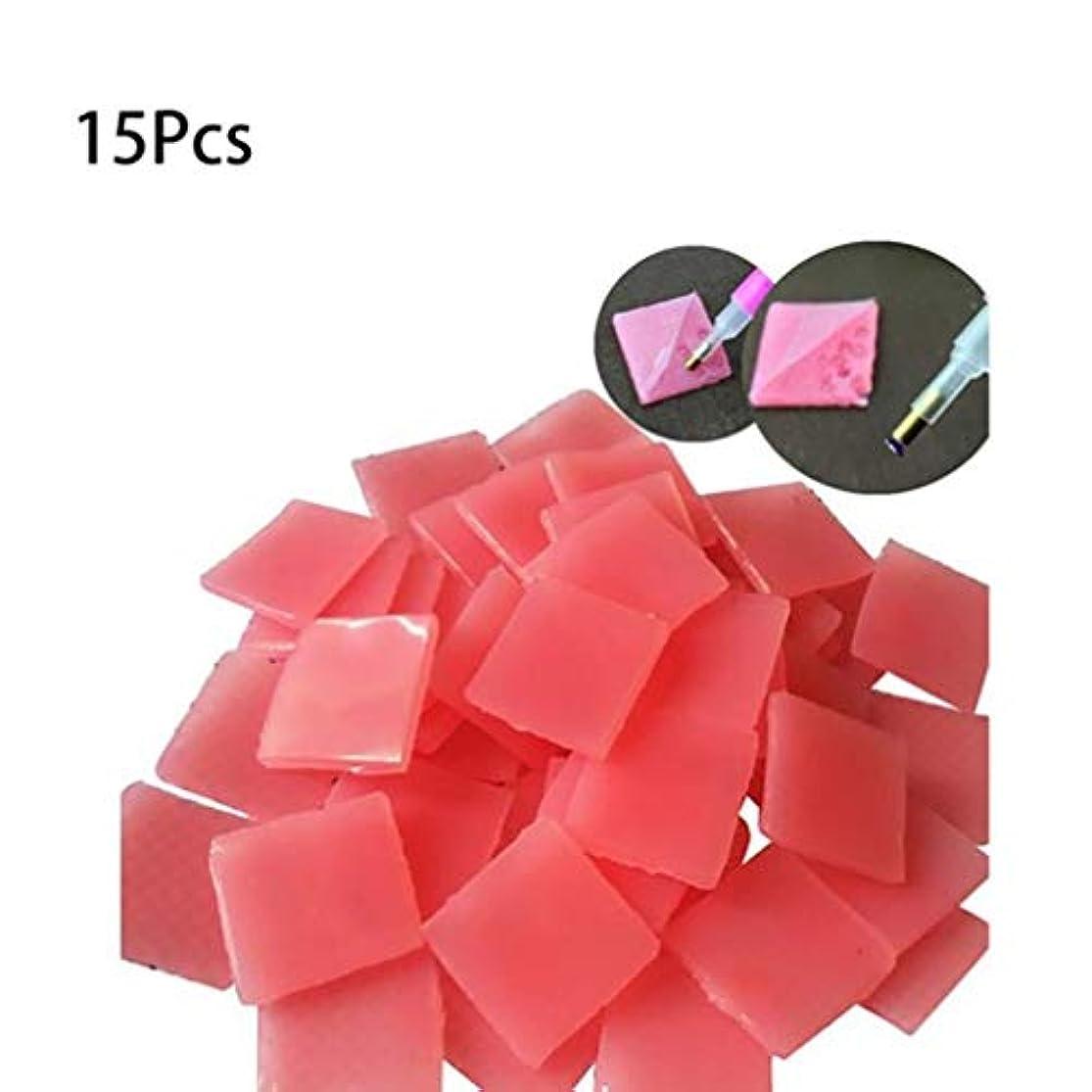 黒人芸術的芝生Onior 5dダイヤモンドポイントペン、15個貼り付けDIYステッカー点描ダイヤモンドポイントペン掘削泥ネイルアートダイヤモンド刺繍ツール耐久性と実用的