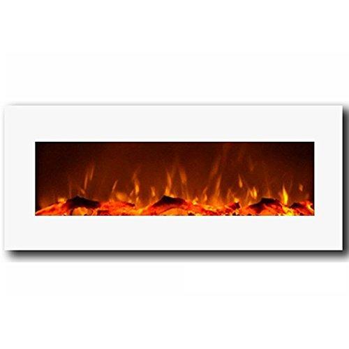 ★豪華★ 高級壁掛け電気暖炉 モダ・フレイム [ヒューストン] / Moda Flame [Houston] Electric Fireplace  [米国輸入品]