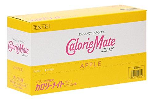 大塚製薬 カロリーメイト ゼリー アップル味 215g×6袋