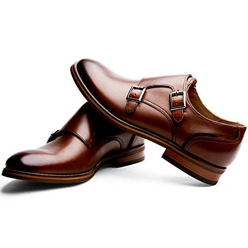 (フォクスセンス) Foxsense ビジネスシューズ 紳士靴 革靴 本革 メンズ モンクストラップ 9枚目のサムネイル