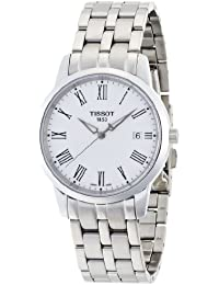 [ティソ] TISSOT 腕時計 クラシック ドリーム ユングフラウ クォーツ ホワイト文字盤 ブレスレット T0334101101310 メンズ 【正規輸入品】