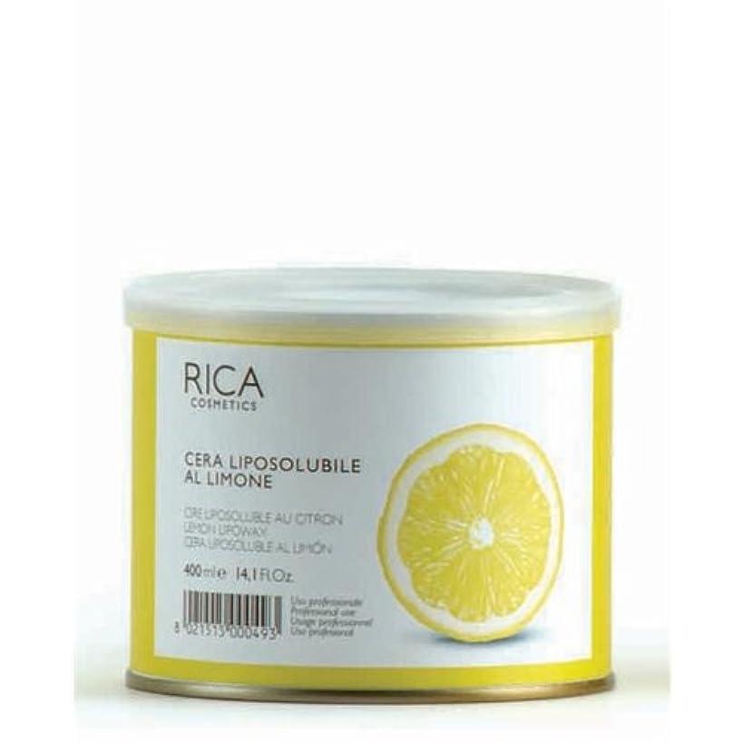 たくさん資格情報申請中リポソルブル ワックス(レモン)400ml