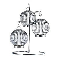 ファッションクリエイティブキャンドルホルダーキャンドルライトディナーの小道具燭台ティーライトスタンドリビングルームレストランの装飾 (色 : A)