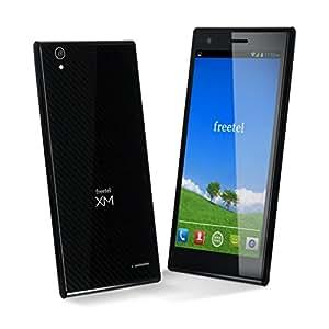 freetel フリーテル SIMフリー スマートフォン LTE XM ( Android 4.4 / 5.0inch / Micro SIM / ブラック ) FT142D_LTEXM_BK