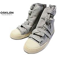 [オスクレン] OSKLEN 0000792 OSK 0255162 スウェットスニーカーブーツ(ミックスグレー)