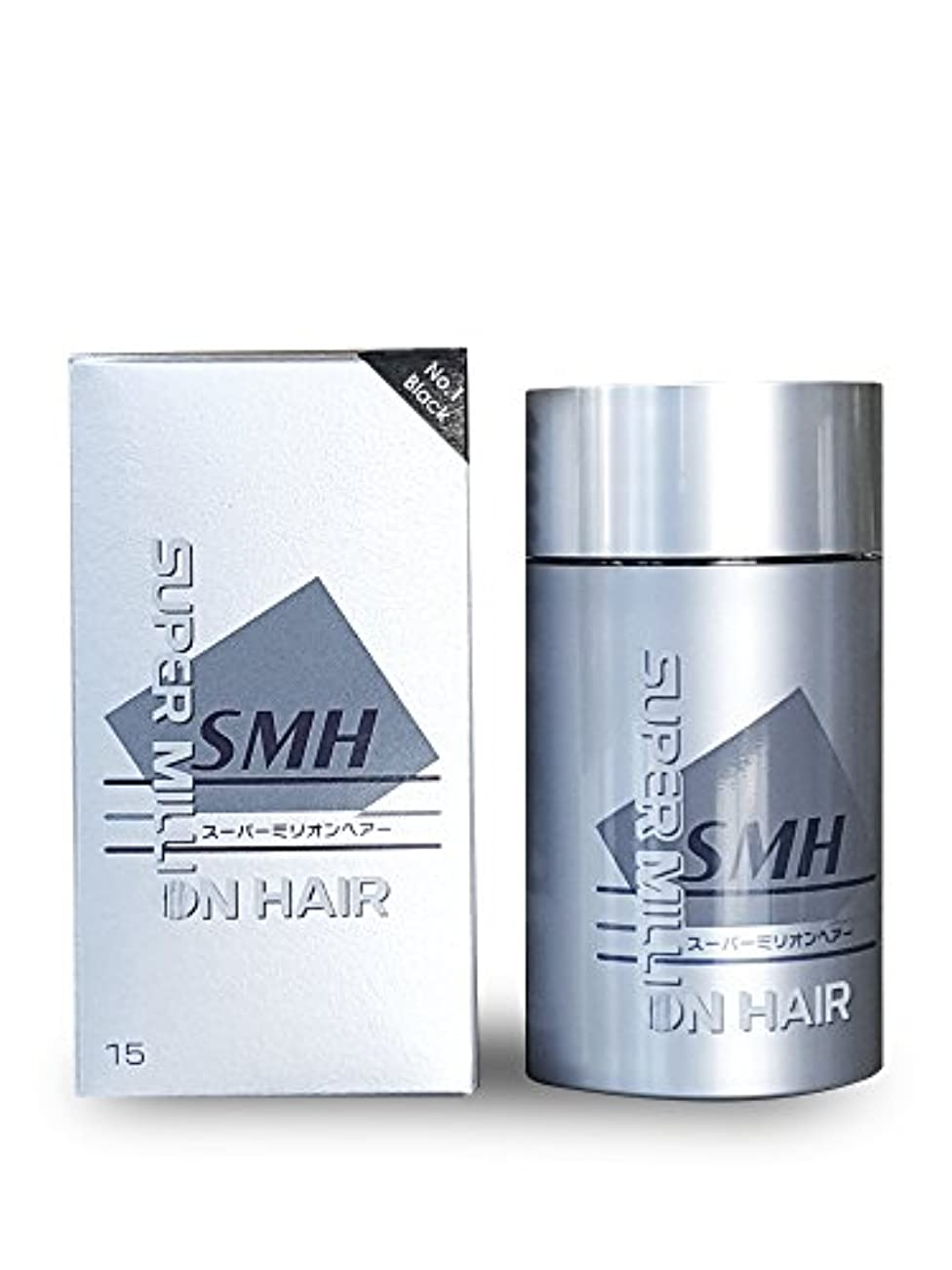 プランテーション早い光沢のあるSuper Million Hair 15グラム、 15グラム no.1のブラック